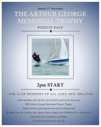 Arthur George Memorial Trophy 2020