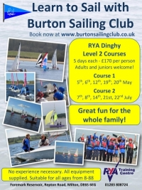 Interested in learning to sail? Places now available!