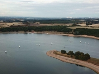 Welcome to Burton Sailing Club. Foremark reservoir is a super venue for class open and championship racing