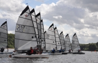 Championship sailing at Burton Sailing Club